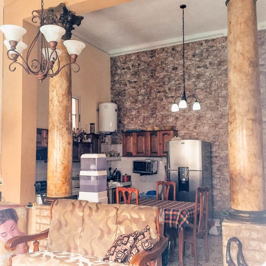 Sala de estar Columnas Siglo XX