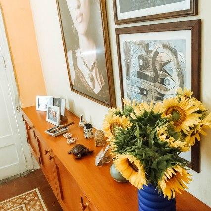 Sala de estar Casa Azul